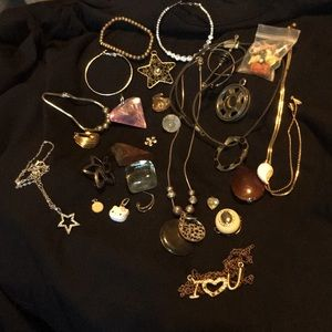 Jewelry - Assorted jewelry- chains, pendants, vintage